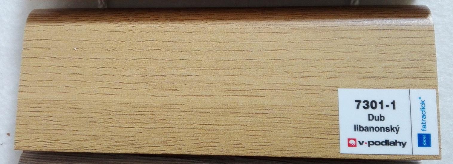 FatraClick soklová lišta Dub libanonský 7301-1