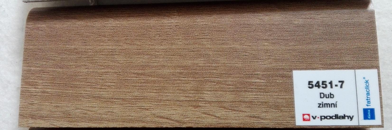 FatraClick soklová lišta Dub zimní 5451-7