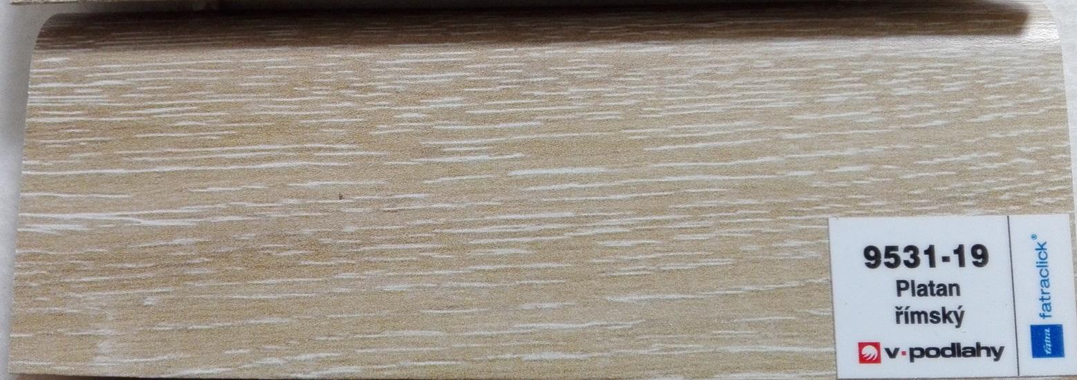 FatraClick soklová lišta Platan Římský 9531-19