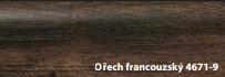 FatraClick soklová lišta Ořech francouzský 4671-9