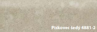 FatraClick soklová lišta Pískovec šedý 4881-2